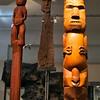 Māori Carvings - Auckland Museum