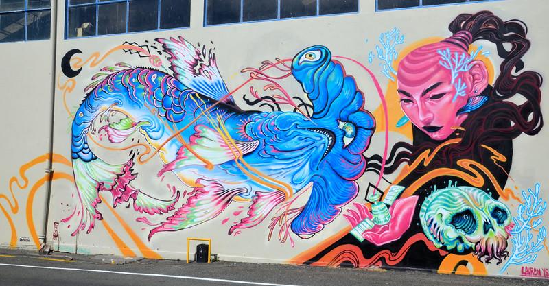 Street art in Napier