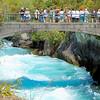 At Huka Falls