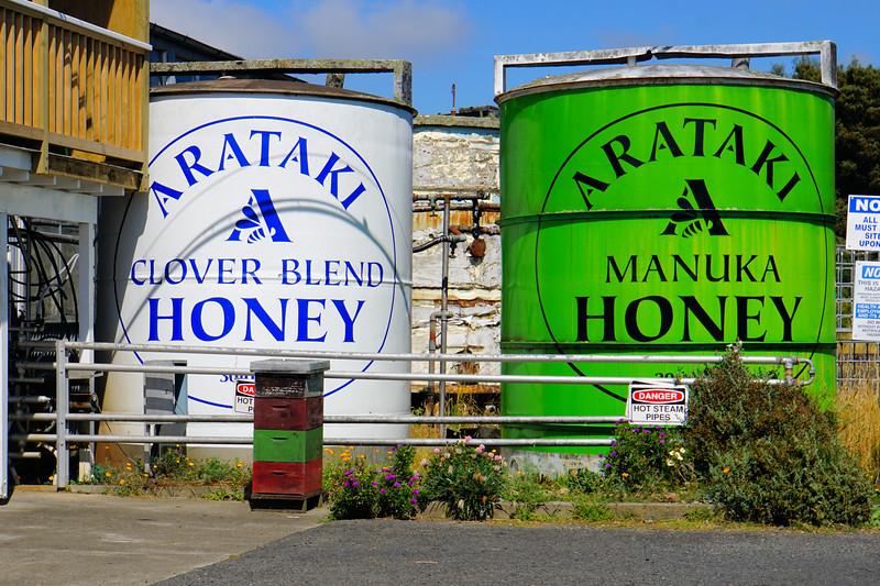 Arataki honey processing plant