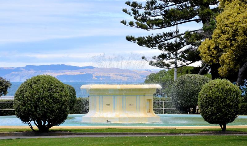 Napier fountain