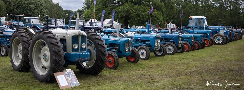 Newby Hall Tractorfest 2017