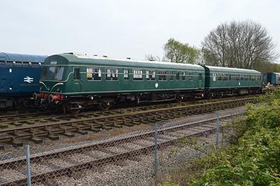 Class 101 DMU 51499_51226 at Dereham MNR.