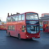 Fairbrother Buses Volvo Wright Eclipse Gemini LJ53BFV F37 at Warrington bus station on the 1C to Westy, 30.11.17.