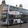 Transdev Lancashire Witch Volvo Wright Eclipse Gemini BF63HCK 2772 in Rawtenstall on the X43 to Manchester, 18.11.17.