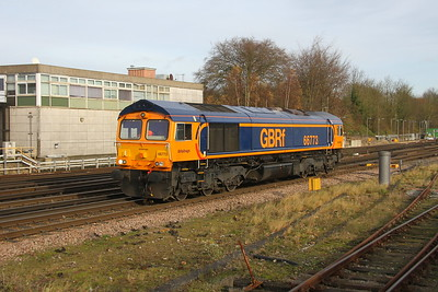 66773 Basingstoke 27/11/17 0Y67 Hoo Junction to Eastleigh