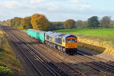 66774 Potbridge 10/11/17 5E08 Eastleigh to Doncaster