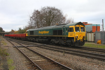 66501 Basingstoke 29/11/17 6O26 Hinksey to Eastleigh