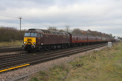 57314 Worting Junction 29/11/17 5Z85 Southall to Swanage