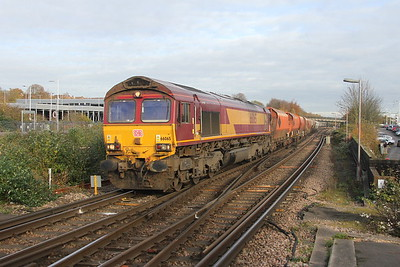 66065 Basingstoke 08/11/17 6Z61 Wembley to Eastleigh