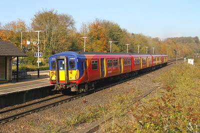455903 Micheldever 03/11/17 5B39 Wimbledon to Bournemouth