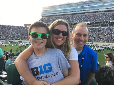 Oct. 19-21: Michigan Trip, Michigan State Football, Michigan Soccer, Hailey Eclipse Soccer Groups