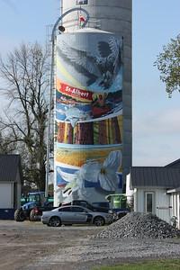 Second silo: St-Albert
