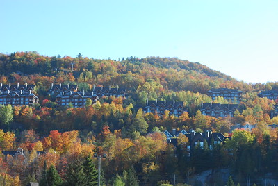 Mont-Tremblant (known to some locals as Disneyland)
