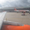 """Flying from London Luton to the Isle of Man on tartan liveried EasyJet Airbus A319 G-EZBF """"Inverness"""", 13.10.17."""