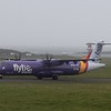 Stobart Air Flybe ATR-72 EI-REL arriving at Isle of Man Ronaldsway Airport, 13.10.17.