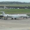 Enhance Aero Group (formerly Fly Kiss) Embraer ERJ-145 F-HFKE at London Luton airport, 13.10.17.