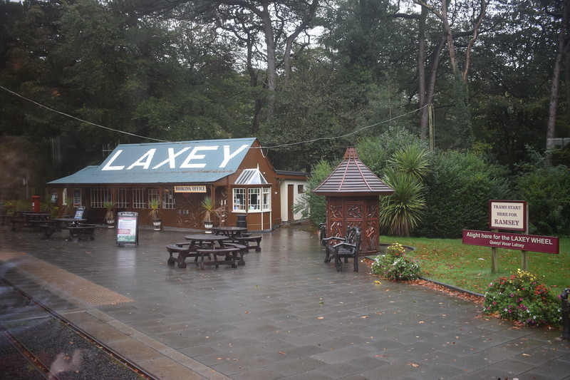 Laxey station on the Manx Electric Railway, 14.10.17.