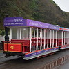 Douglas Bay Horse Tramway United Electric Car Co Ltd. Roofed toastrack tram no. 43 at the Derby Castle terminus, 14.10.17.
