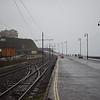 Manx Electric Railway tracks at Derby Castle, 14.10.17.