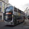 Bus Vannin Volvo Wright Eclipse Gemini LMN173K 173 in Douglas on the 5 to Peel , 17.10.17.