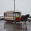 Douglas Bay Horse Tramway G.F. Milnes & Co., Ltd. enclosed saloon tram no. 1 leaving the Derby Castle terminus, 14.10.17.