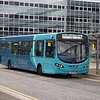 Arriva Sapphire debranded VDL Wright Pulsar MX12KWV 3767 at Milton Keynes Central on the 7 to Wolverton, 07.10.17.