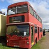 Ex London Transport MCW Metrobus BYX161V M161 at the Electric Railway Museum, Coventry.