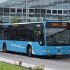Arriva new livery Mercedes Citaro BD12DJF 3019 at Milton Keynes Central on the 150 to Aylesbury, 08.10.17.