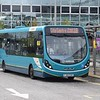 Arriva Wright Streetlite FJ64EUO 3328 at Milton Keynes Central on the 18 from Bradville, 08.10.17.