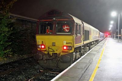 66093 Basingstoke 24/10/17 3J42 Didcot to Didcot