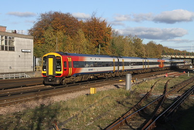 159103 Basingstoke 27/10/17 1L45 Waterloo to Exeter St Davids