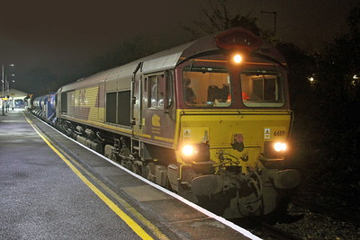 66119 Basingstoke 24/10/17 3J42 Didcot to Didcot