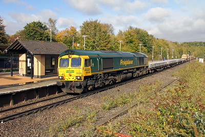 66596 Micheldever 20/10/17 6O26 Hinksey to Eastleigh