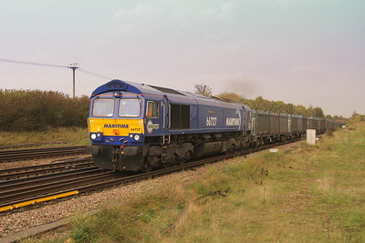 66727 Worting Junction 16/10/17 4Y19 Mountfield to Southampton Western Docks