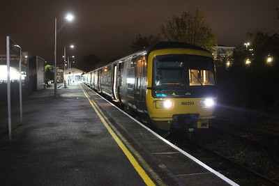 166204 Basingstoke 24/10/17 2J72 Basingstoke to Reading