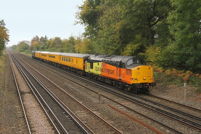 37116 Old Basing 26/10/17 1Q54 Easteigh to Hither Green