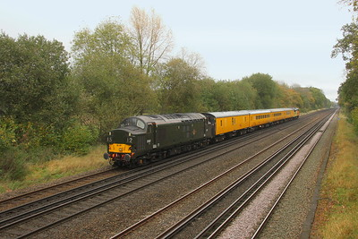 37057 Old Basing 26/10/17 on the rear of 1Q54 Easteigh to Hither Green
