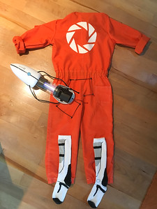 Connor's finished costume