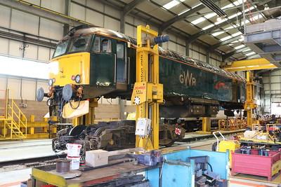 Class 57 57603 'Tintagel Castle'