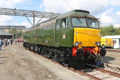 Class 57 57604 'Pendennis Castle'