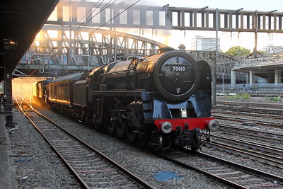"""70013 """"Oliver Cromwell"""" London Paddington 02/09/17 5Z72 Old Oak Common HSTD to Didcot with 6023 """"King Edward II"""" and 47237 on the rear"""