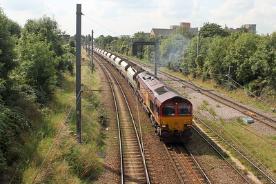 66060 Acton Canal Wharf 02/09/17 6L21 West Drayton to Dagenham Dock