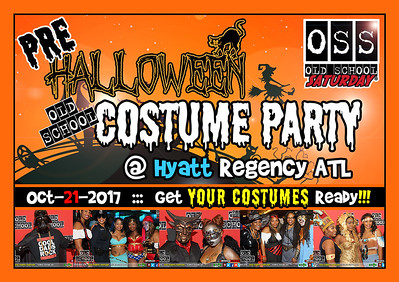 OSS Pre-Halloween Costume Party --- Oct.21.2017