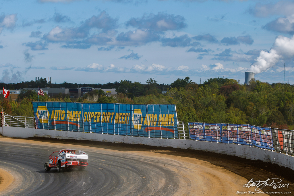 Billy Whittaker Cars 200 - NAPA Auto Parts Super DIRT Week XLVI - Oswego Speedway - 14j Alan Johnson