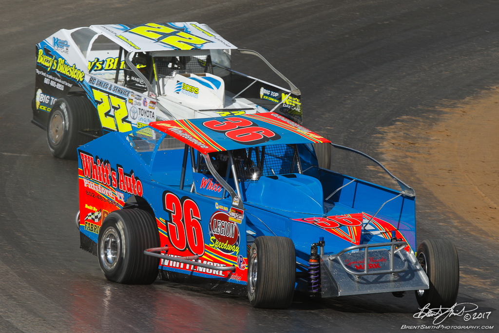 Billy Whittaker Cars 200 - NAPA Auto Parts Super DIRT Week XLVI - Oswego Speedway - 36 Brian Whittmore