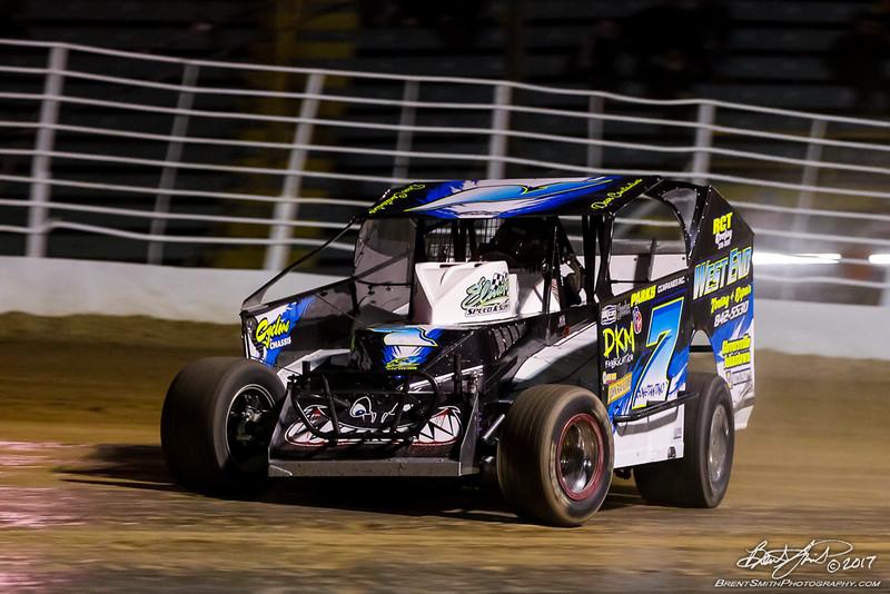 Chevy Performance 75 Championship - NAPA Auto Parts Super DIRT Week XLVI - Oswego Speedway - 7 Dave Constantino