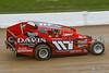 Chevy Performance 75 Championship - NAPA Auto Parts Super DIRT Week XLVI - Oswego Speedway - 117 CJ Castelletti Jr.
