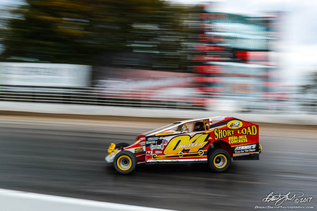 Great Outdoors RV 150 - NAPA Auto Parts Super DIRT Week XLVI - Oswego Speedway - 04 Mike Butler