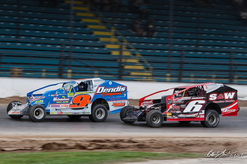 Great Outdoors RV 150 - NAPA Auto Parts Super DIRT Week XLVI - Oswego Speedway - 9s Matt Sheppard, 6m Mat Williamson